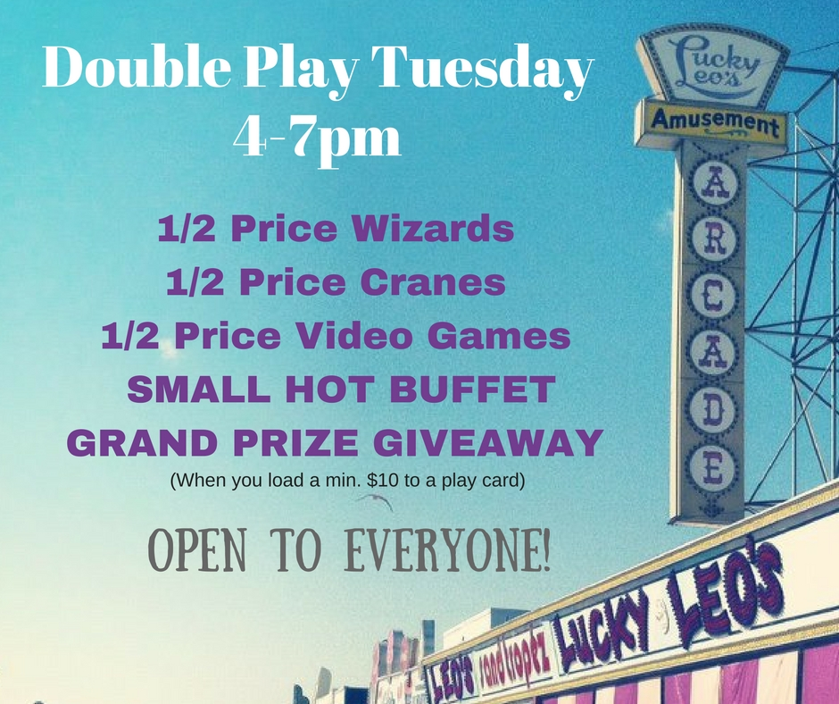 Double Play Tuesday (4-7) buffet