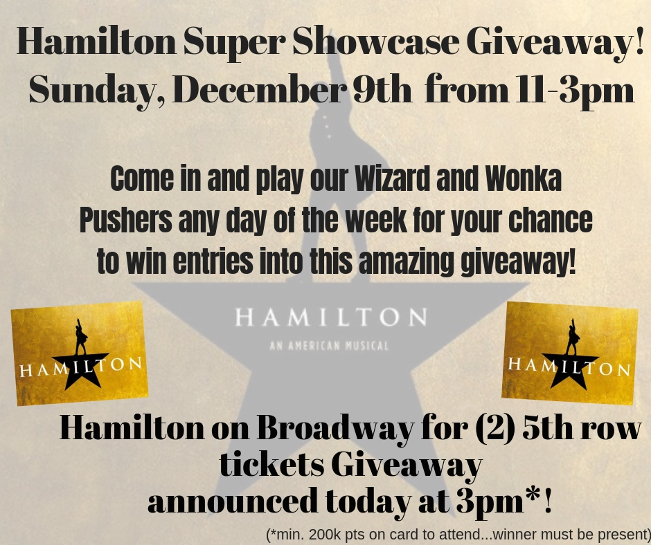 Wicked Super Showcase Giveaway!Sunday, March 11 from 11-3pm