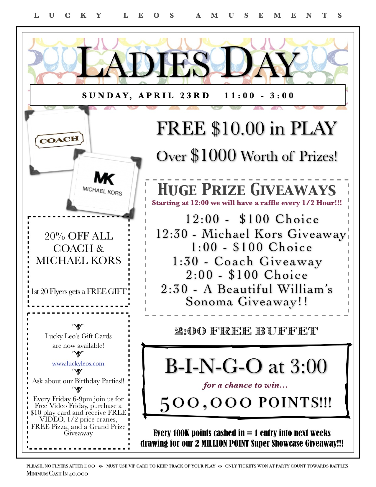 2017 Ladies Day -April
