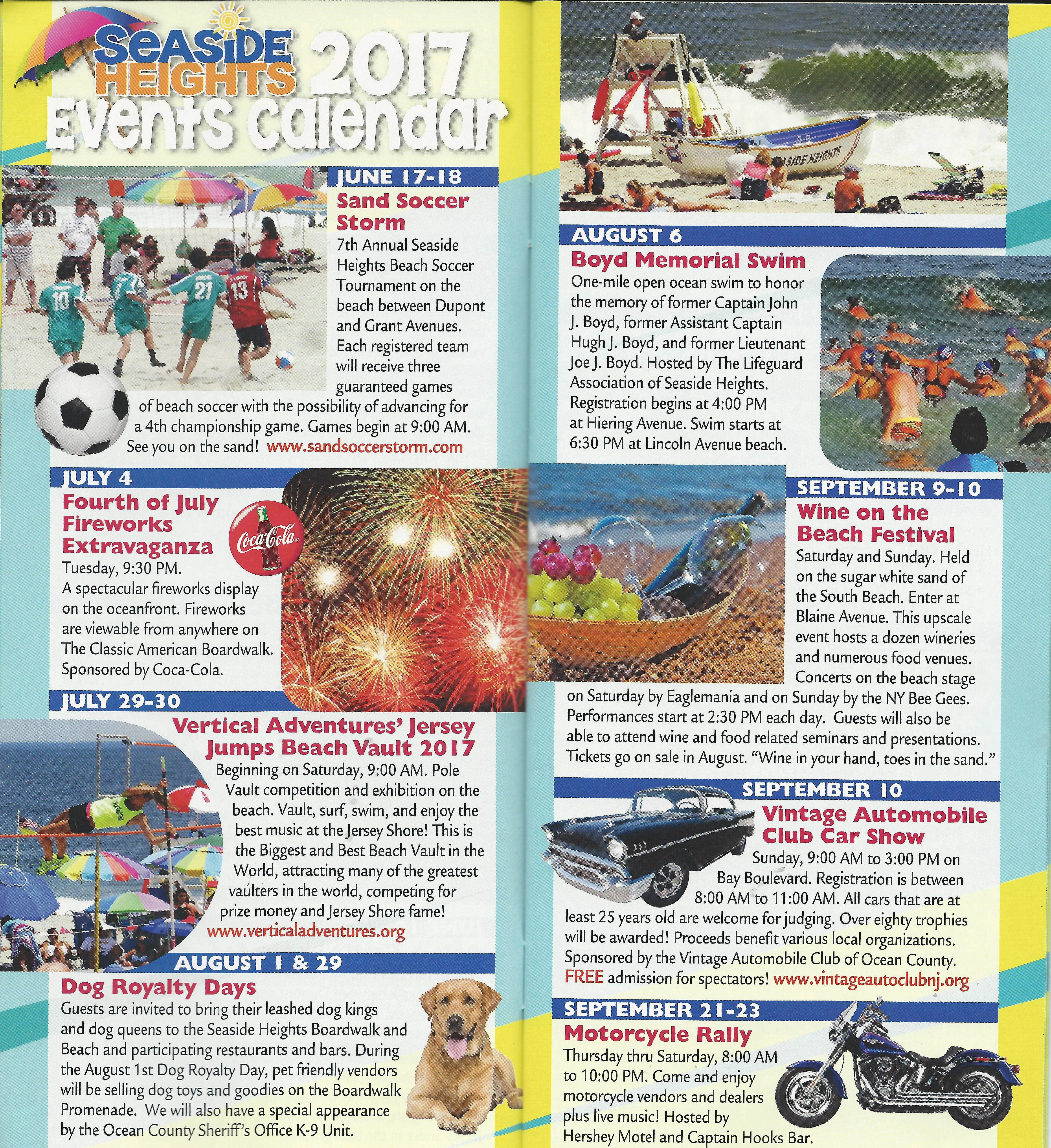 EVENTS Pg
