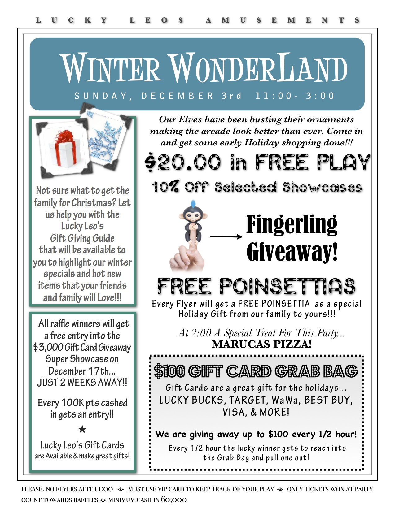 2017 Winter Wonerland Clearance