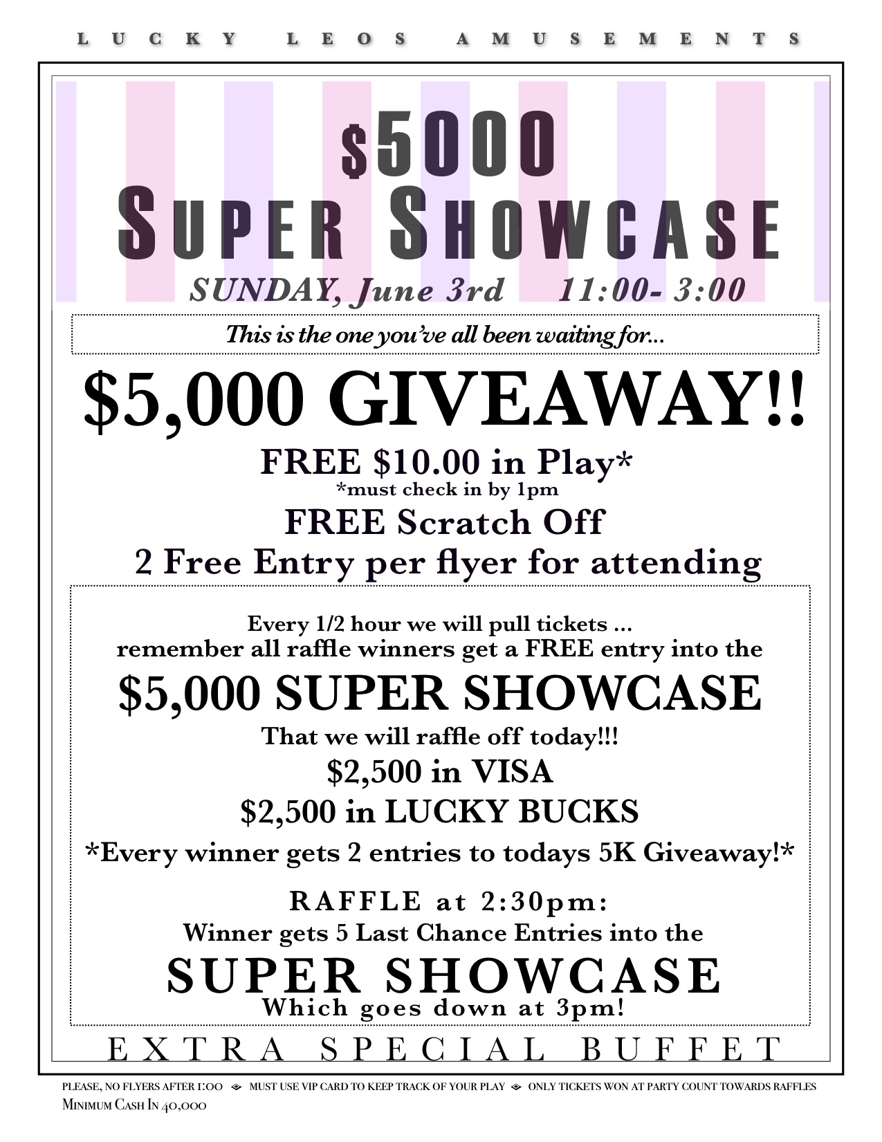 2018 5K Super Showcase