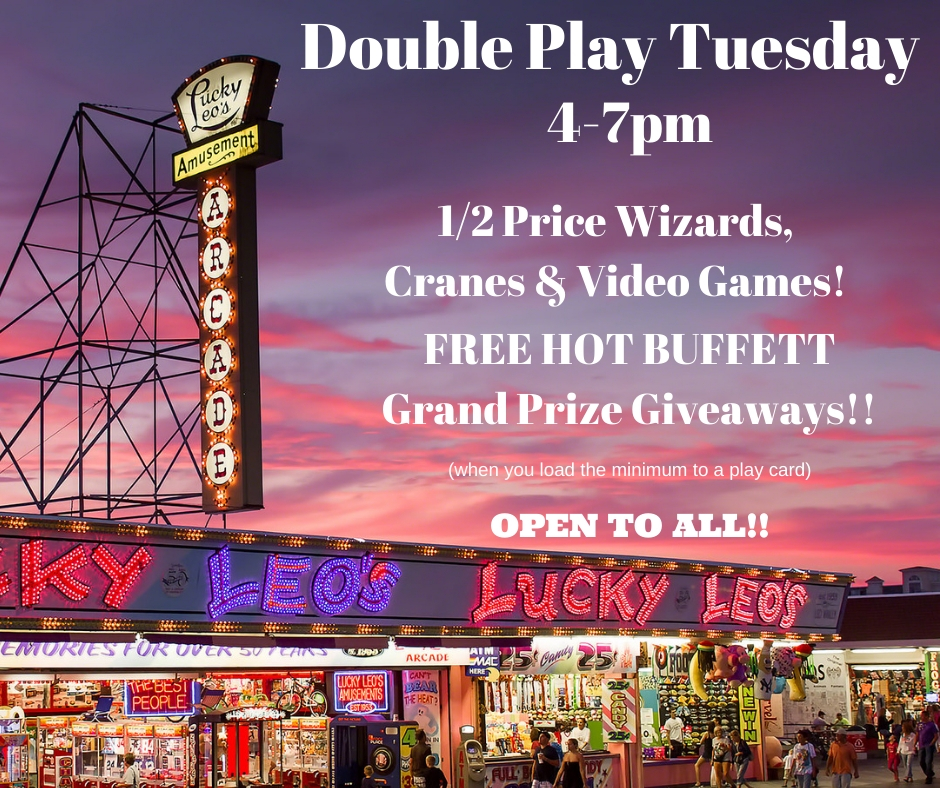 Double Play Tuesday 4-7 PM