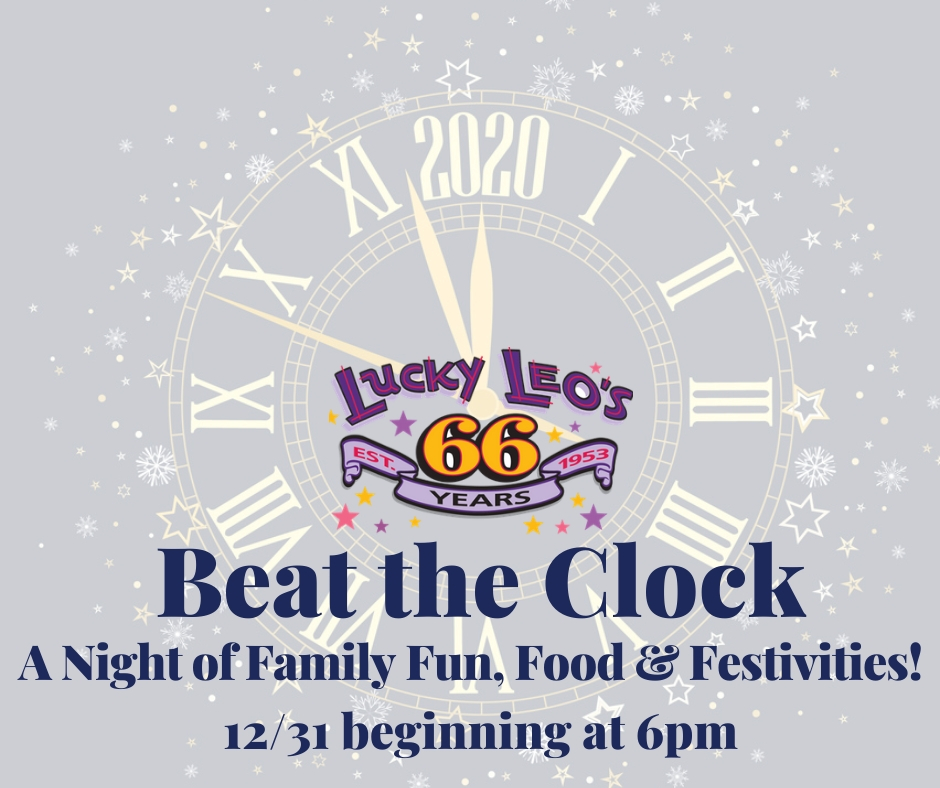 Beat The Clock! 12/31